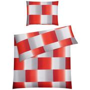 BETTWÄSCHE 140/200 cm - Rot/Weiß, Basics, Textil (140/200cm) - KLEINE WOLKE