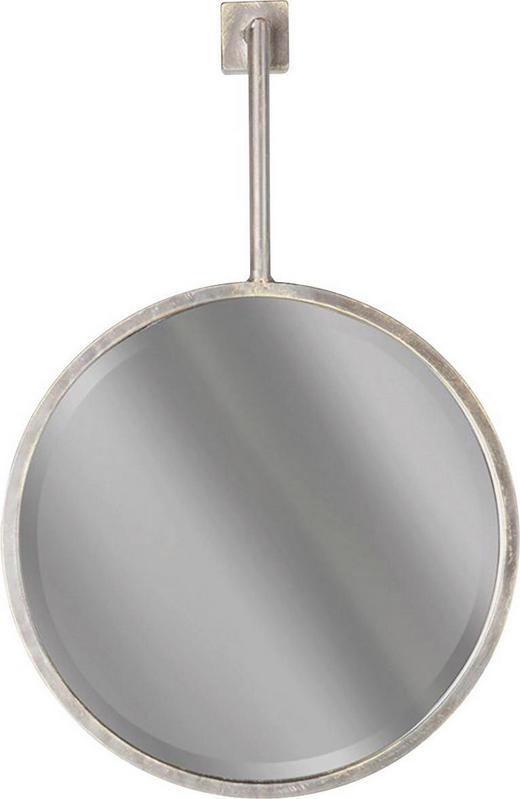 SPIEGEL - Schwarz, Design, Glas/Metall (39/53/2,2cm) - Ambia Home