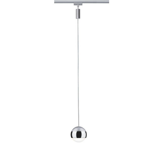 URAIL SCHIENENS.-HÄNGELEUCHTE   - Chromfarben, Design, Metall (130cm)