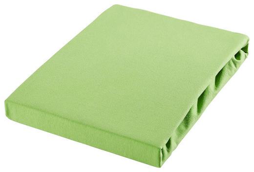 SPANNBETTTUCH Jersey Hellgrün bügelleicht, für Wasserbetten geeignet - Hellgrün, Basics, Textil (180/200cm) - Esposa