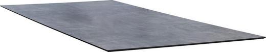 TISCHPLATTE Kunststoff Grau - Grau, Design, Kunststoff (200/100/1,3cm) - Stern