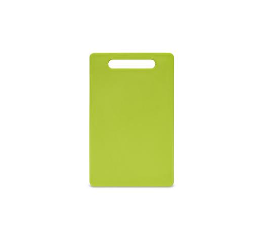 SCHNEIDEBRETT - Grün, Basics, Kunststoff (24/15/0,6cm) - Homeware