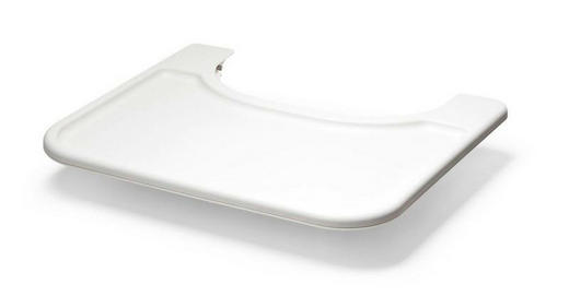 ESS- UND SPIELBRETT Steps - Weiß, Trend, Kunststoff (46/40/39cm) - Stokke