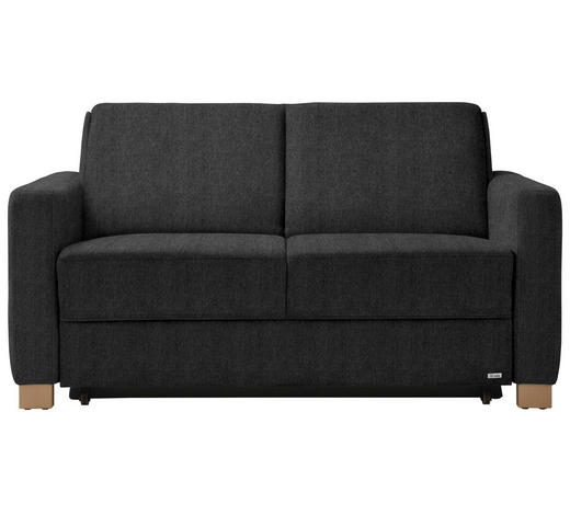 Schlafsofa In Textil Anthrazit