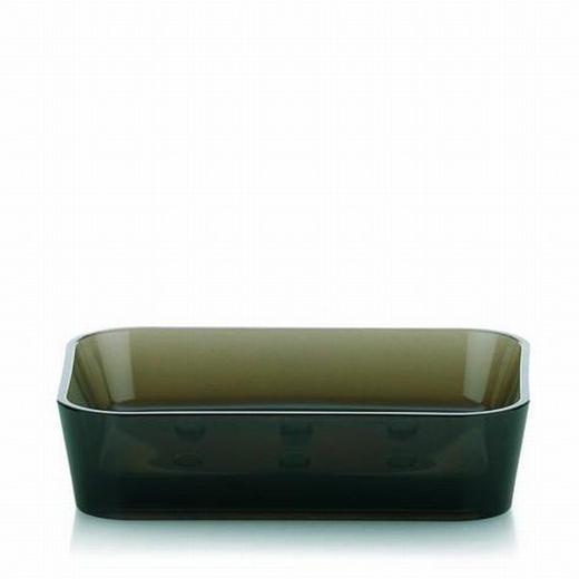 SEIFENSCHALE - Anthrazit, Basics, Kunststoff (12/9/3cm)