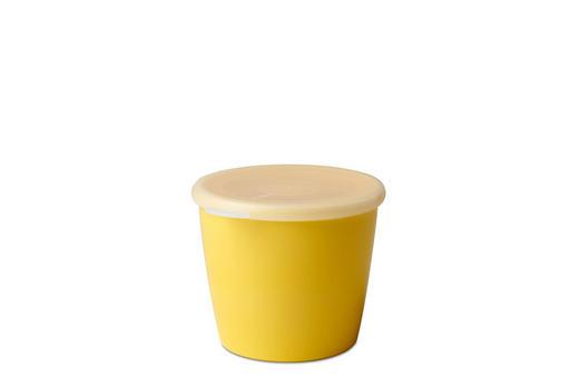 SCHALE Kunststoff - Klar/Gelb, Design, Kunststoff (13,2/12/10,2cm) - Mepal Rosti