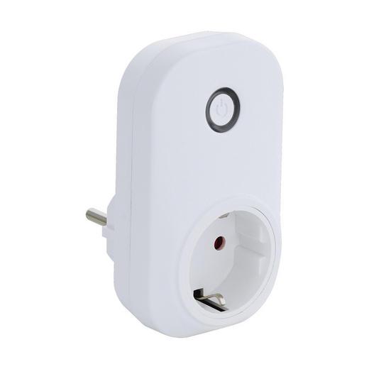 Netzadapter Connect Plug - Weiß, KONVENTIONELL, Kunststoff (6,2/11/3,5cm)