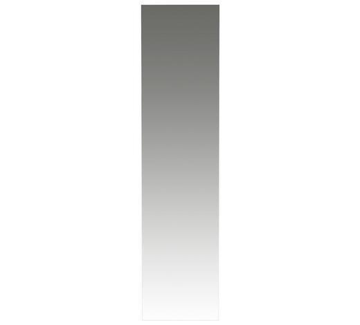 ZRCADLO, 42/170/3 cm,  - bílá, Design, kompozitní dřevo (42/170/3cm) - Novel
