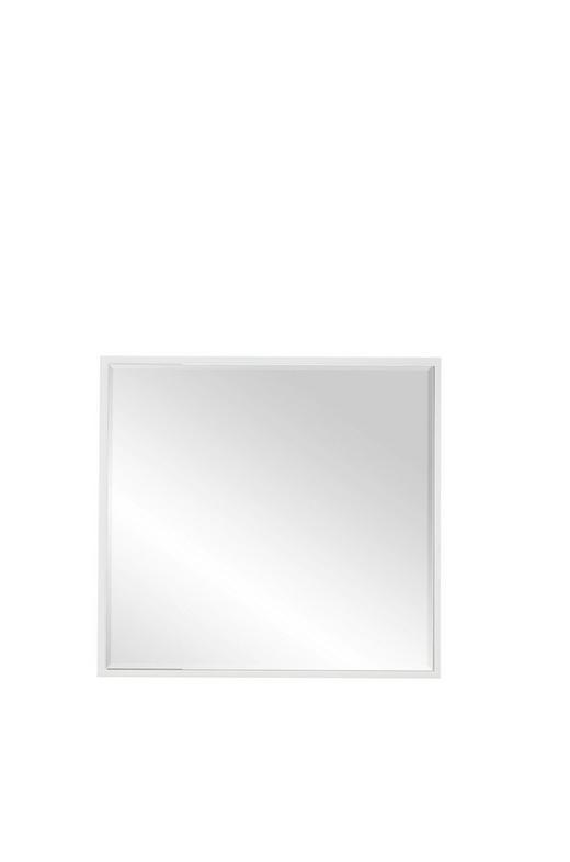 SPIEGEL - Weiß, Design, Glas/Holzwerkstoff (80/75/2cm) - Voleo