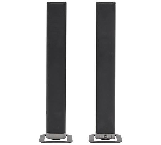 SOUNDSYSTEM in - Schwarz, Design, Kunststoff (80/6/6cm)