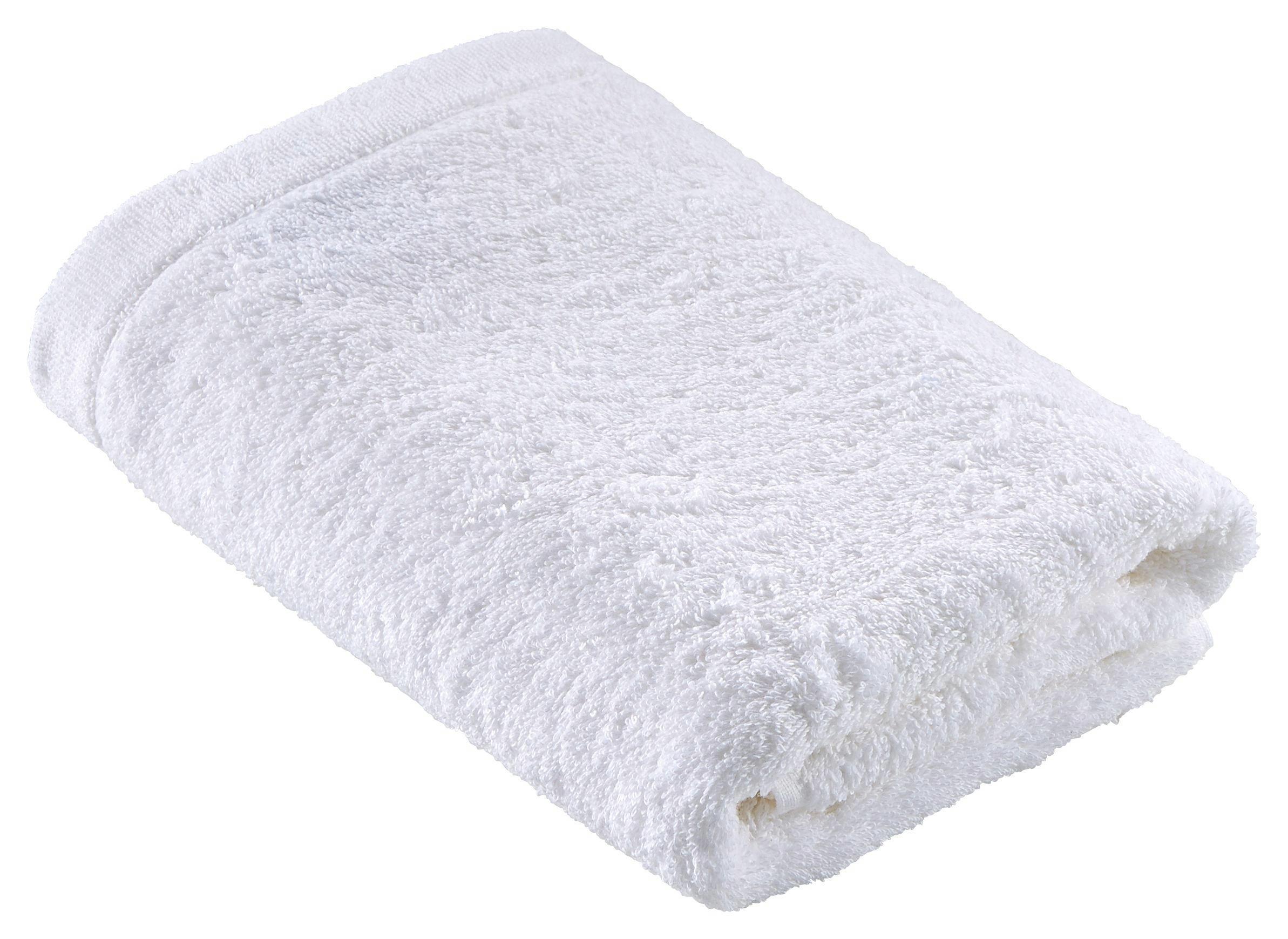 DUSCHTUCH 70/140 cm - Weiß, Basics, Textil (70/140cm) - CAWOE