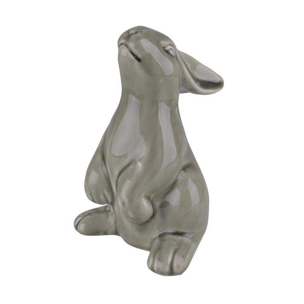 Handgemachter Hase aus Keramik