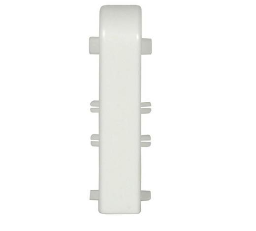SOCKELLEISTENVERBINDUNGSSTÜCK Weiß  - Weiß, Basics, Kunststoff (0,18/0,20/0,60cm) - Homeware