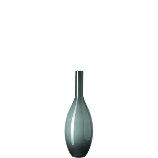VASE - Grau, Basics, Glas (14/39/14cm) - LEONARDO