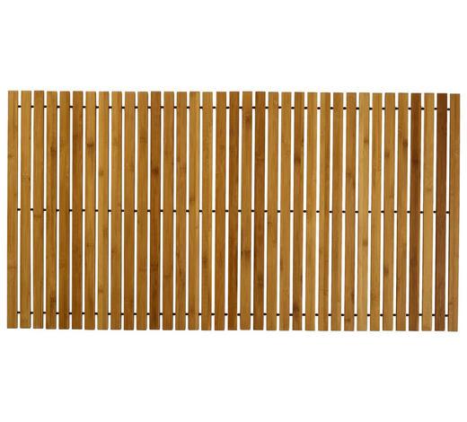 BADTEPPICH in Naturfarben 60/115 cm - Naturfarben, Natur, Holz/Kunststoff (60/115cm) - Kleine Wolke
