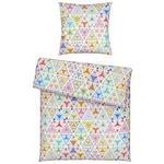 BETTWÄSCHE Seersucker, Renforcé Multicolor  - Multicolor, KONVENTIONELL, Textil (135/200cm) - Esposa