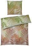BETTWÄSCHE Satin Grün, Naturfarben 135/200 cm  - Naturfarben/Grün, Basics, Textil (135/200cm) - Esposa