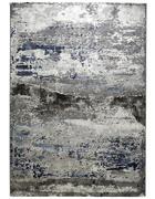 TKANA PREPROGA  133/190 cm  tkano  modra, srebrna  - modra/srebrna, Design, tekstil (133/190cm) - Novel