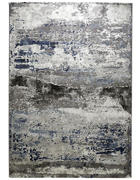 TKANI TEPIH - boje srebra/plava, Design, plastika (133/190cm) - Novel