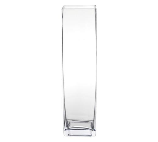 VÁZA, 40 cm - čiré, Basics, sklo (40cm)