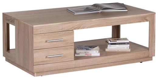 COUCHTISCH Eichefarben - Eichefarben, Design (120/65/46cm) - Carryhome