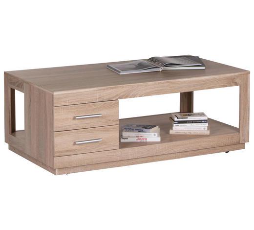COUCHTISCH in Holzwerkstoff 120/65/46 cm - Eichefarben, Design, Holzwerkstoff (120/65/46cm) - Carryhome