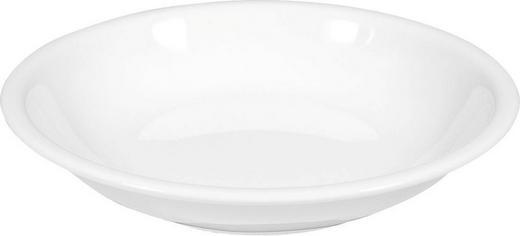 SUPPENTELLER Porzellan - Weiß, Basics (22cm) - SELTMANN WEIDEN