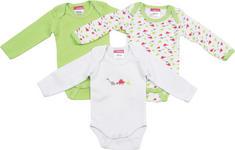 BABYBODY-SET 3-teilig - Hellgrün, Basics, Textil (50/56) - MY BABY LOU
