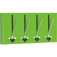 KROKLIST - grön, Design, metall (36/17/2,8cm)