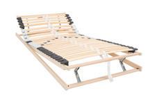 LATTENROST 120/200 cm  - Birkefarben, Basics, Holz (120/200cm) - Carryhome