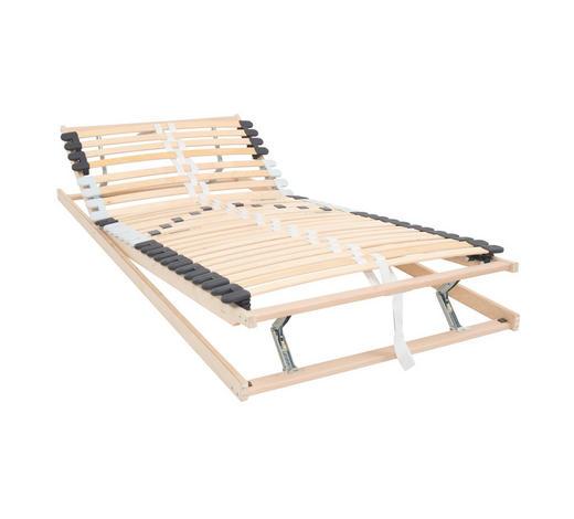 LATTENROST 120/200 cm   Birke Echtholz  - Birkefarben, Design, Holz (120/200cm) - Carryhome