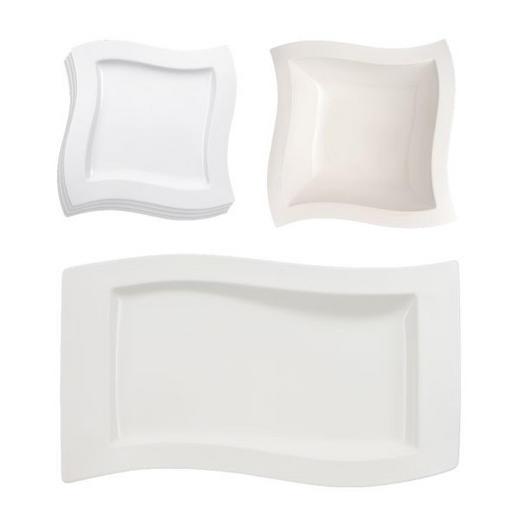 Porzellan  KOMBISERVICE 6-teilig - Weiß, Basics, Keramik (59/40/24cm) - Villeroy & Boch