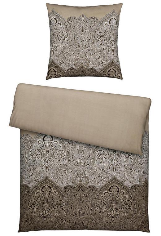 BETTWÄSCHE Satin Taupe 135/200 cm - Taupe, Textil (135/200cm) - Esposa