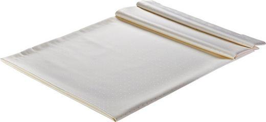 TISCHDECKE Textil Creme 130/250 cm - Creme, Basics, Textil (130/250cm)