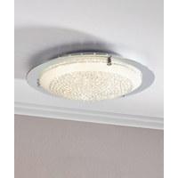 LED DECKENLEUCHTE   Chromfarben, LIFESTYLE, Glas/Metall (42/9, ...