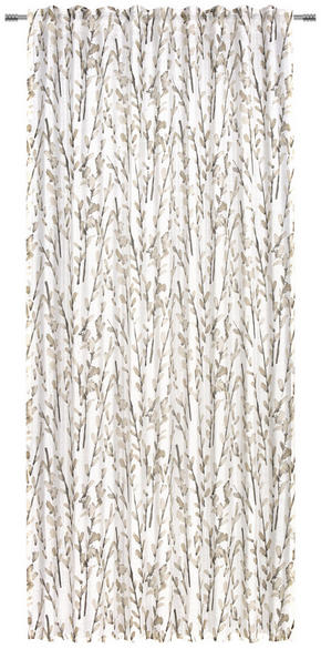 GARDINLÄNGD - grå, Klassisk, textil (140/245cm) - Esposa