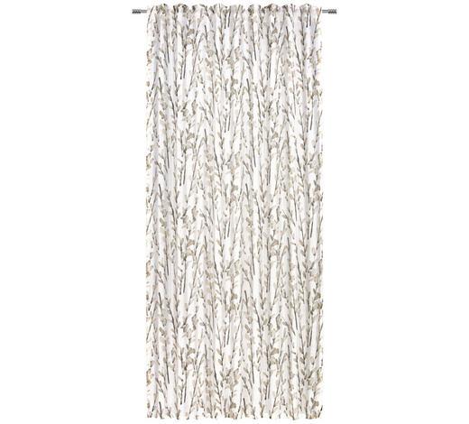 ZÁVĚS, průhledné, 140/245 cm - šedá, Konvenční, textil (140/245cm) - Esposa