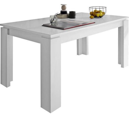 ESSTISCH in Holzwerkstoff 160(200)/90/77 cm - Weiß, Basics, Holzwerkstoff (160(200)/90/77cm) - Carryhome