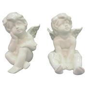 OKRASNI ANGEL, PORCELAN - bela, Basics, keramika - X-Mas
