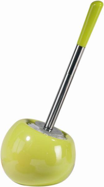 WC SADA - zelená, Basics, kov/umělá hmota (15.5/37cm)