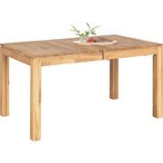 ESSTISCH in massiv Eiche Eichefarben - Eichefarben, Design, Holz (140(200)/90/75cm) - LINEA NATURA