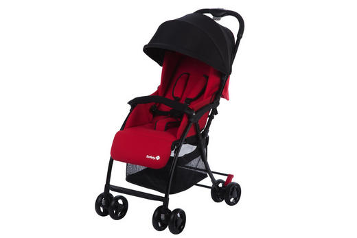 BUGGY  Urby  Rot - Rot/Schwarz, Basics, Textil/Metall (49/81/99cm) - Safety 1st