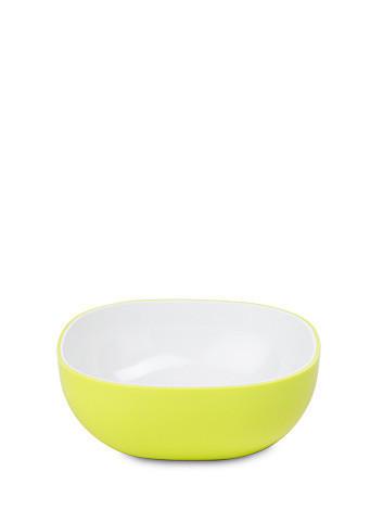 SALATSCHÜSSEL Kunststoff - Weiß/Grün, Basics, Kunststoff (0,25l) - Mepal Rosti