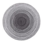 HANDWEBTEPPICH   Grau   - Grau, Trend, Textil (120cm) - Novel