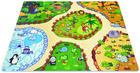 PUZZLEMATTE ANIMAL LAND - Multicolor, Design, Kunststoff (122/92/1cm)