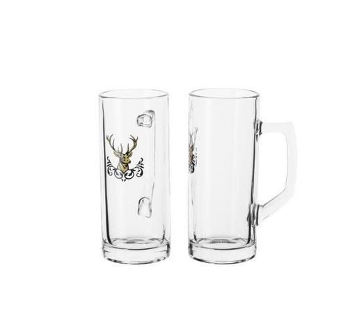 BIERKRUG 300 ml - Transparent, Basics, Glas (10/6,5/16cm) - Homeware