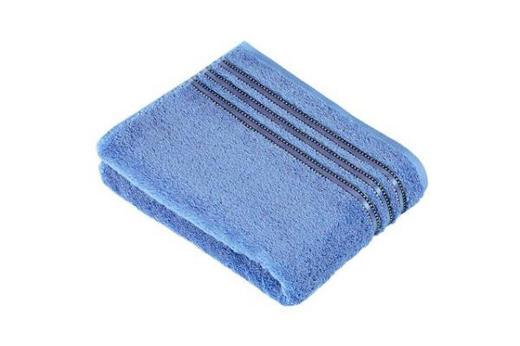 HANDTUCH 50/100 cm - Hellblau, Basics, Textil (50/100cm) - VOSSEN