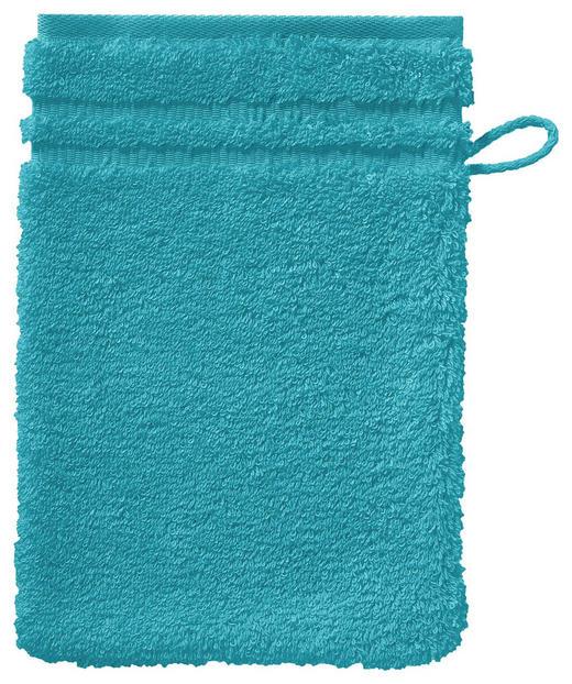 WASCHHANDSCHUH  Türkis - Türkis, Basics, Textil (22/16cm) - VOSSEN