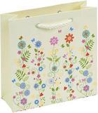 GESCHENKTASCHE - Multicolor, Design, Papier (15/15/5,5cm)