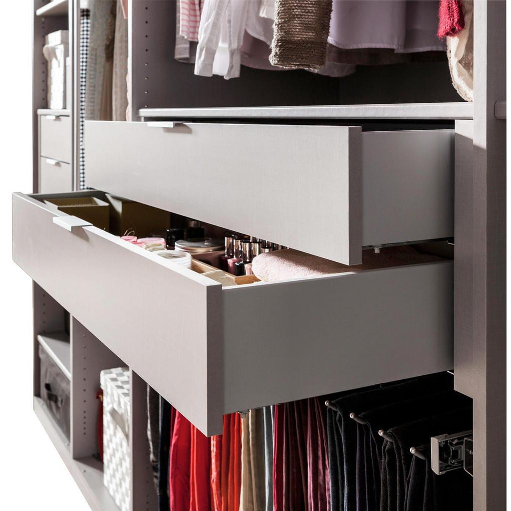 Zusätzliche Innenschubladen für Kleiderschrank und begehbaren Kleiderschrank